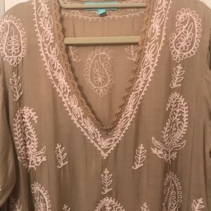 Beach coverup / layering piece - NWOT